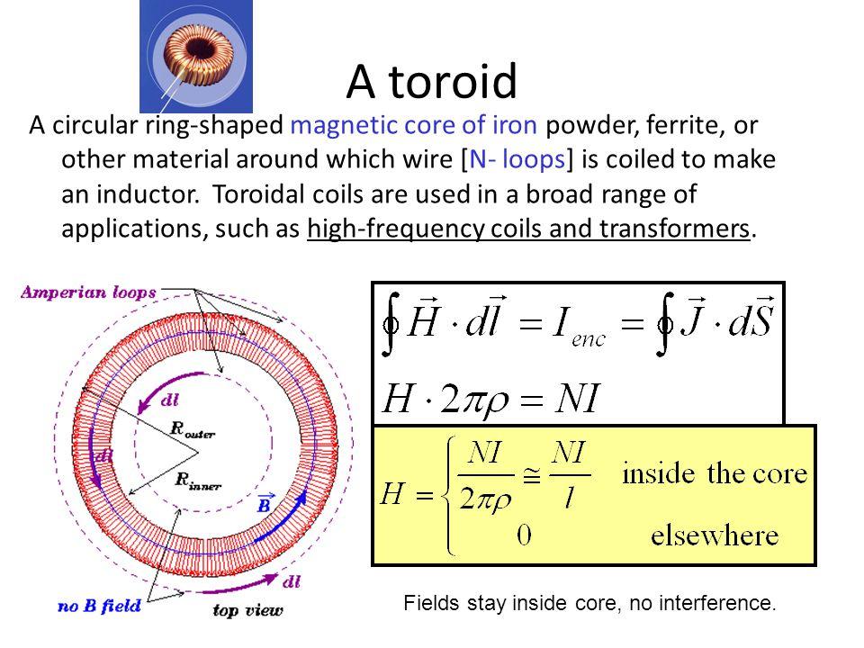 A toroid