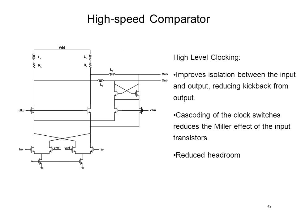 High-speed Comparator