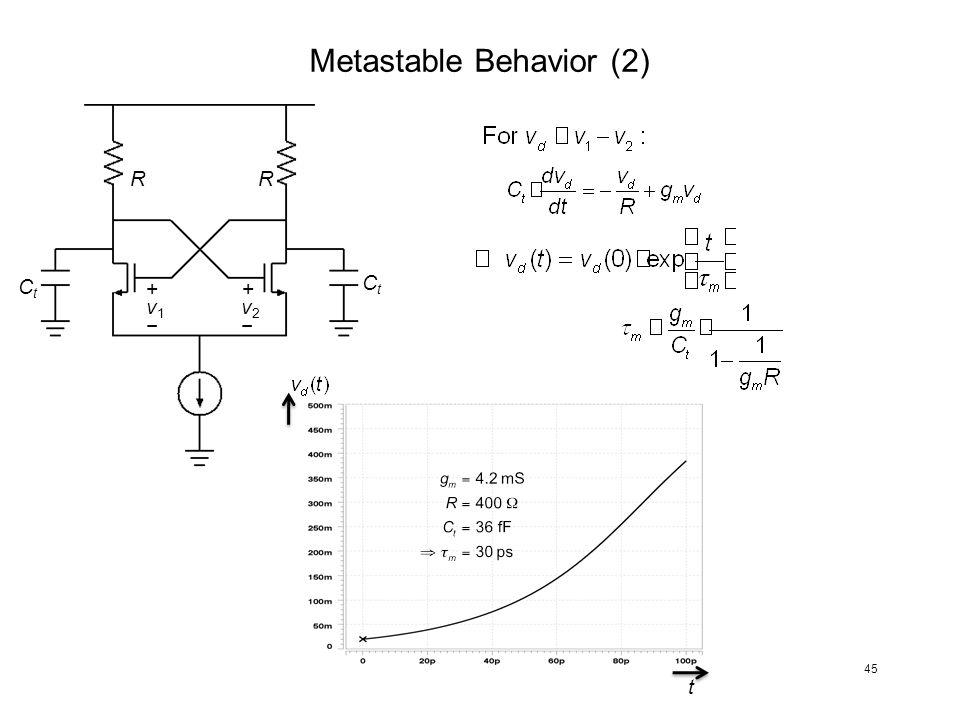 Metastable Behavior (2)