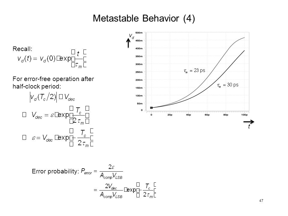 Metastable Behavior (4)
