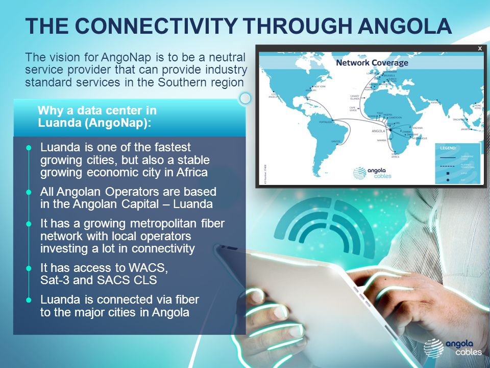 THE CONNECTIVITY THROUGH ANGOLA