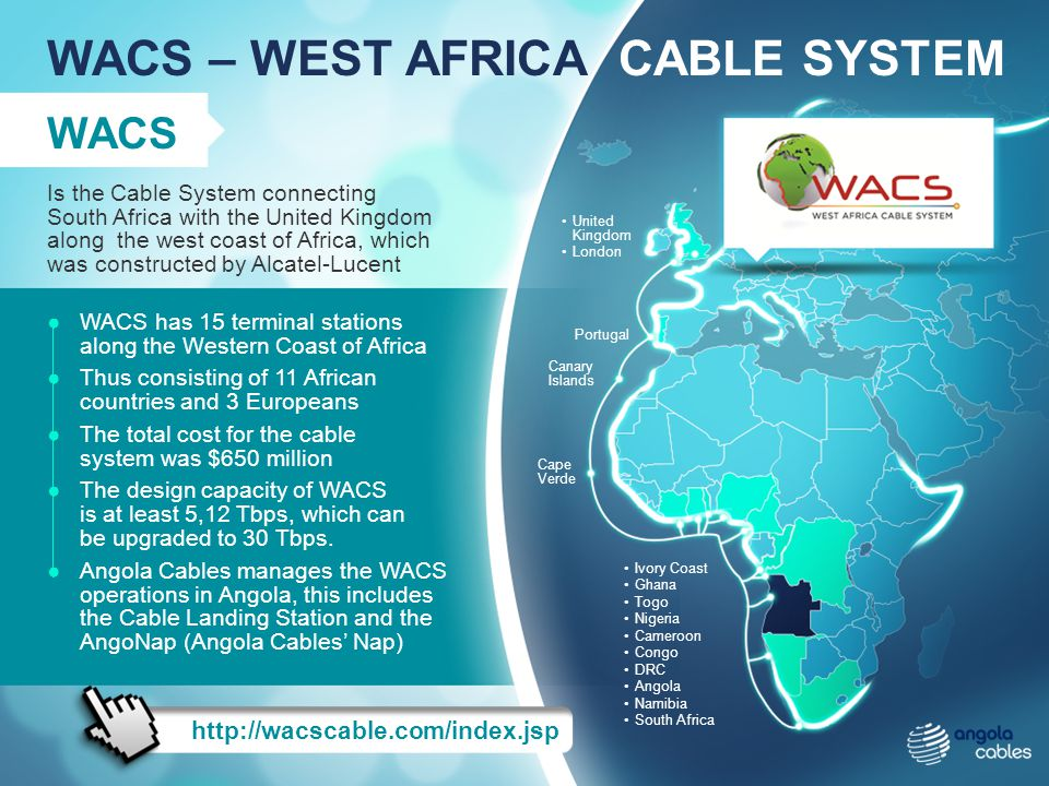 WACS – WEST AFRICA CABLE SYSTEM