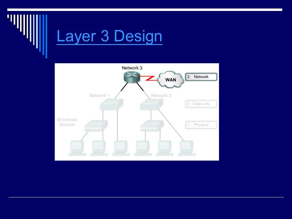 Layer 3 Design