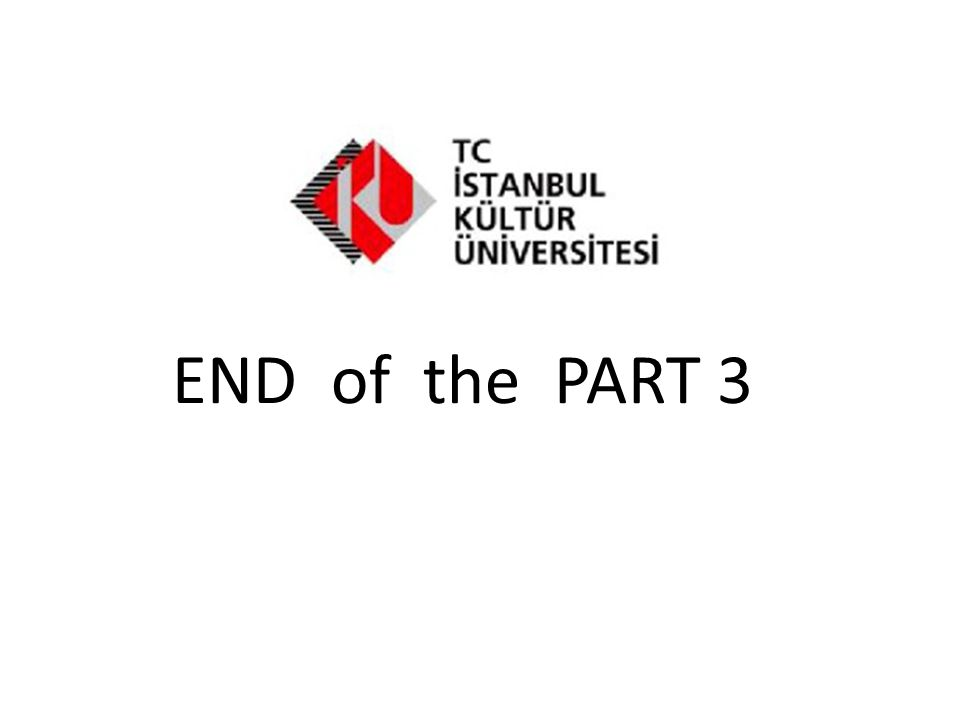 END of the PART 3