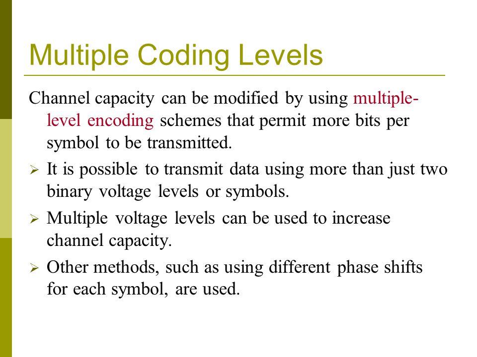 Multiple Coding Levels