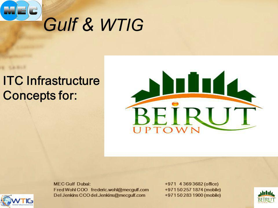 Gulf & WTIG ITC Infrastructure Concepts for: