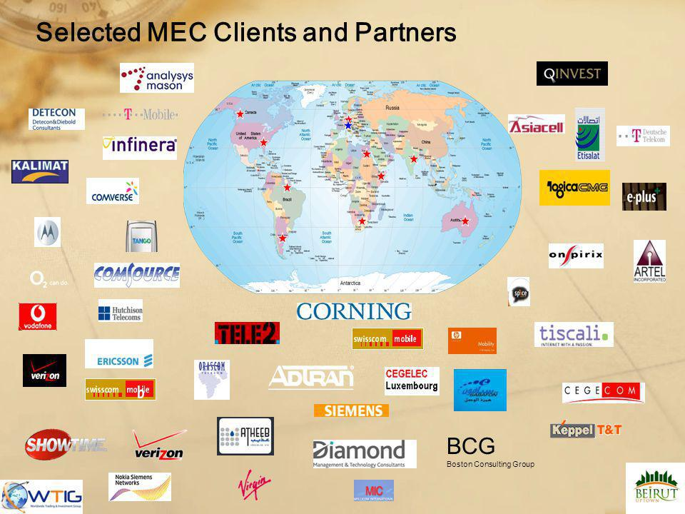 Selected MEC Clients and Partners