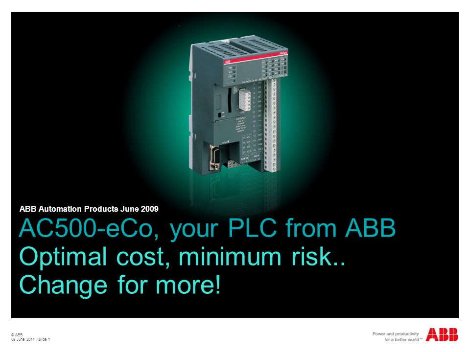 ABB Automation Products June 2009
