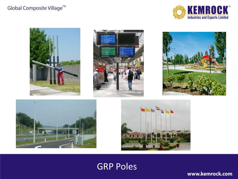 GRP Poles