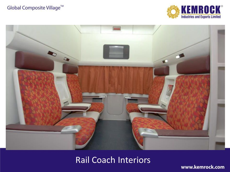 Rail Coach Interiors