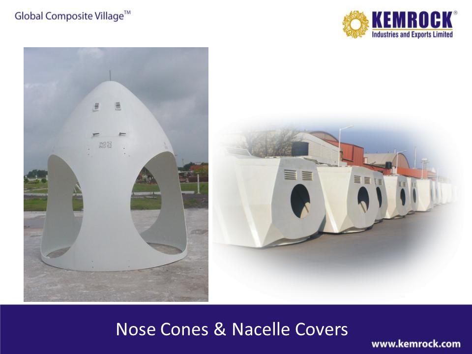 Nose Cones & Nacelle Covers