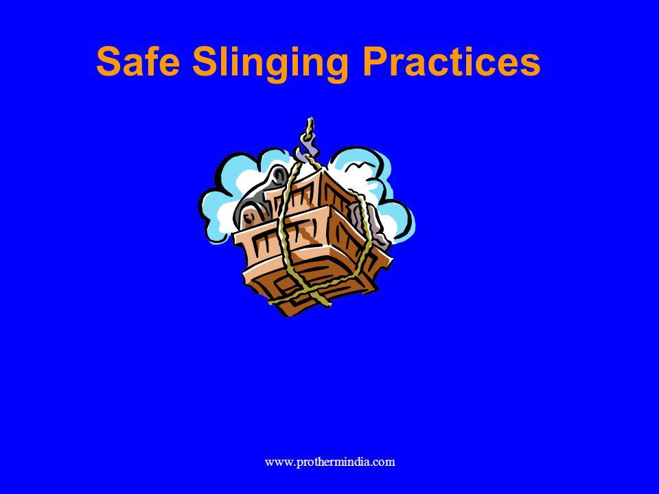 Safe Slinging Practices