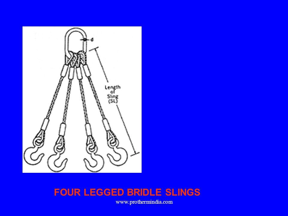 FOUR LEGGED BRIDLE SLINGS
