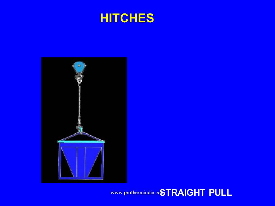 HITCHES STRAIGHT PULL www.prothermindia.com