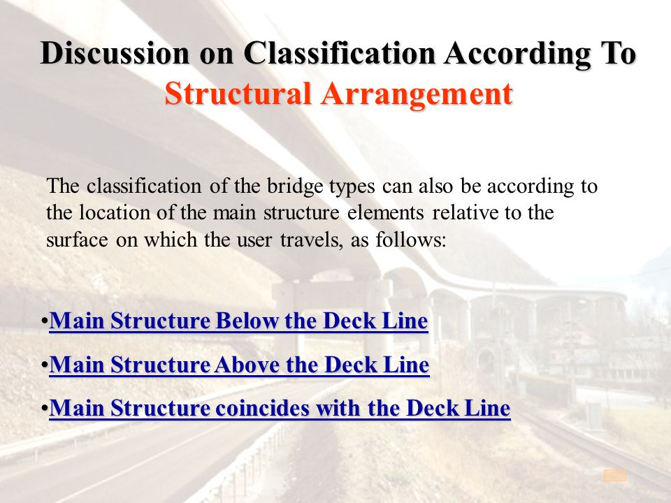 Discussion on Classification According To Structural Arrangement