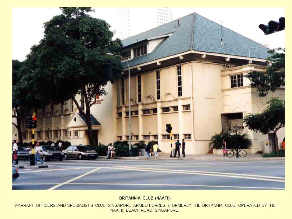BRITANNIA CLUB (NAAFI))