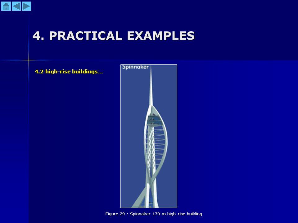 Figure 29 : Spinnaker 170 m high rise building
