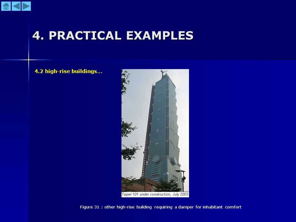 4. PRACTICAL EXAMPLES 4.2 high-rise buildings…
