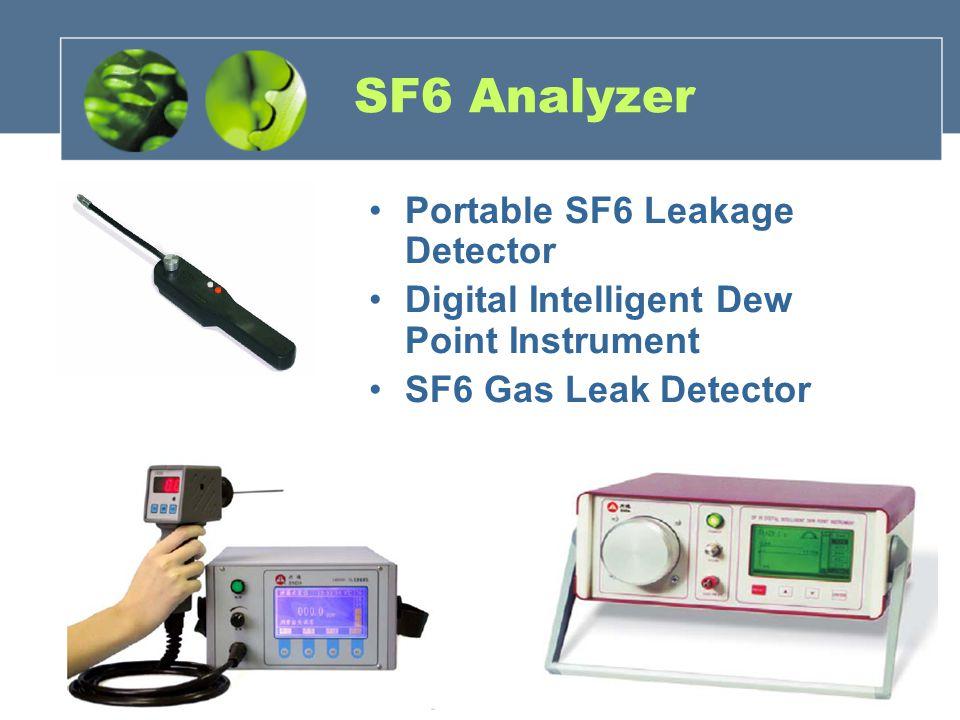 SF6 Analyzer Portable SF6 Leakage Detector