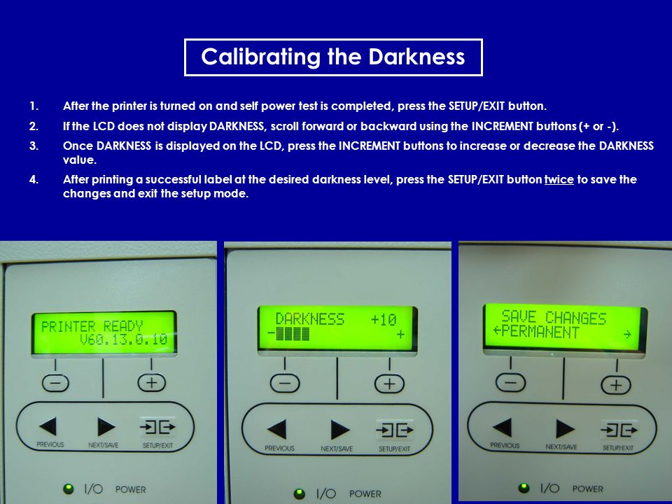 Calibrating the Darkness