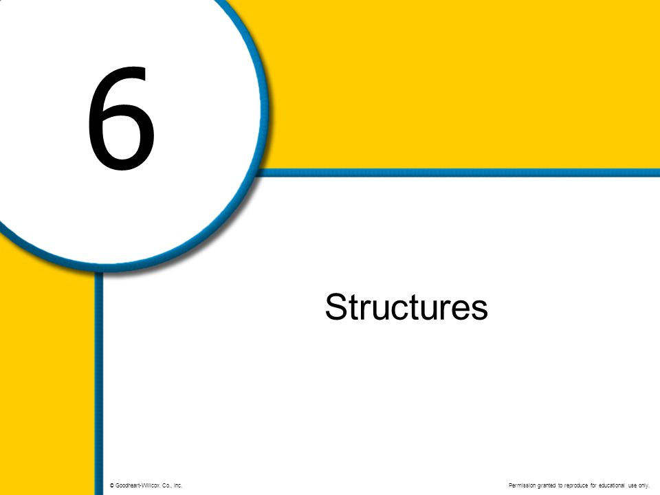 6 Structures.