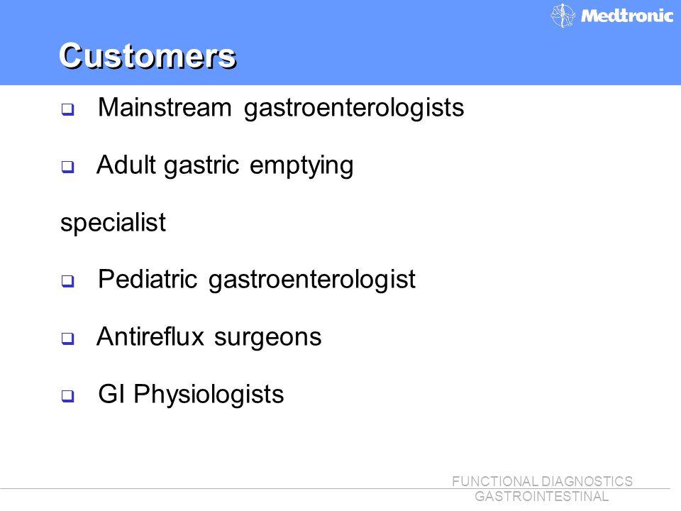 Customers Mainstream gastroenterologists