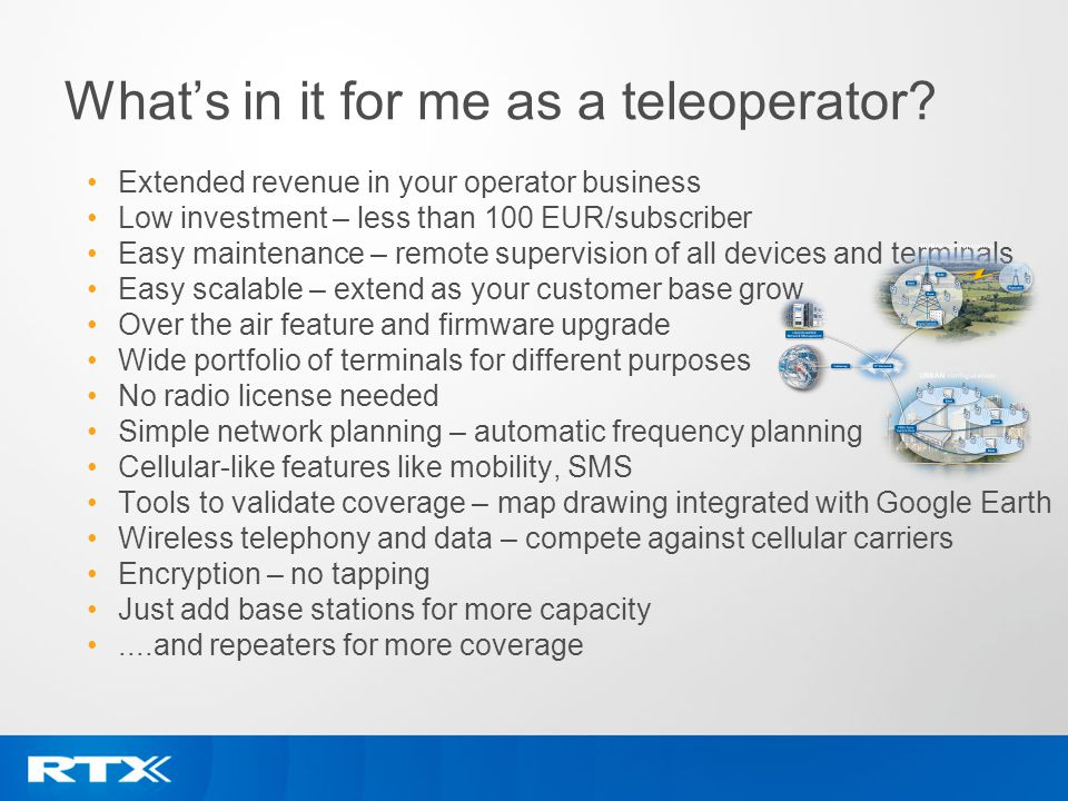 What's in it for me as a teleoperator
