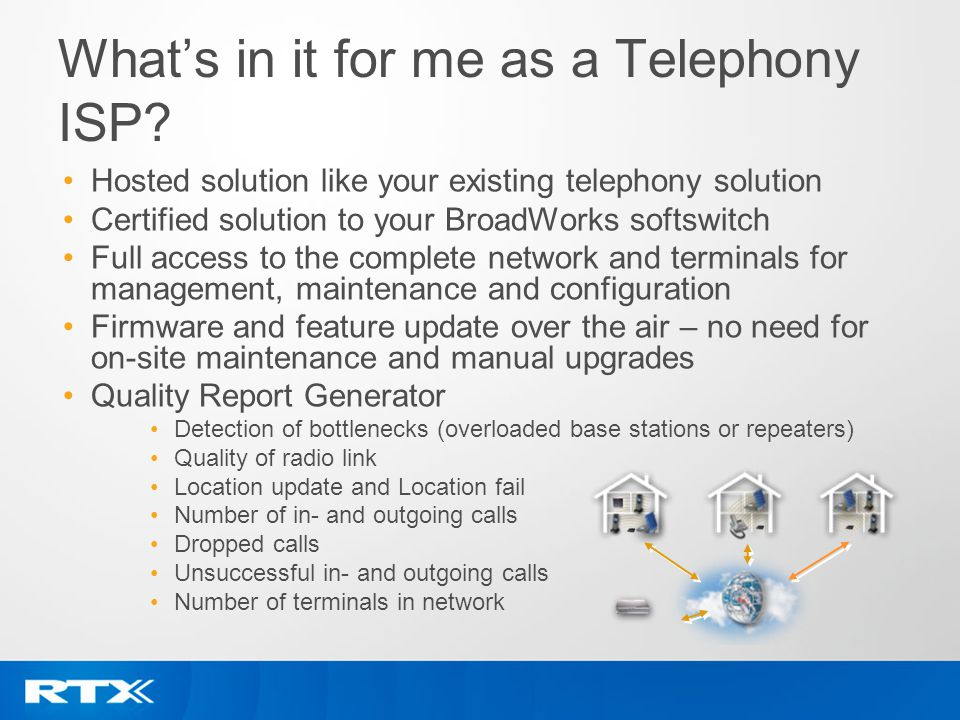 What's in it for me as a Telephony ISP