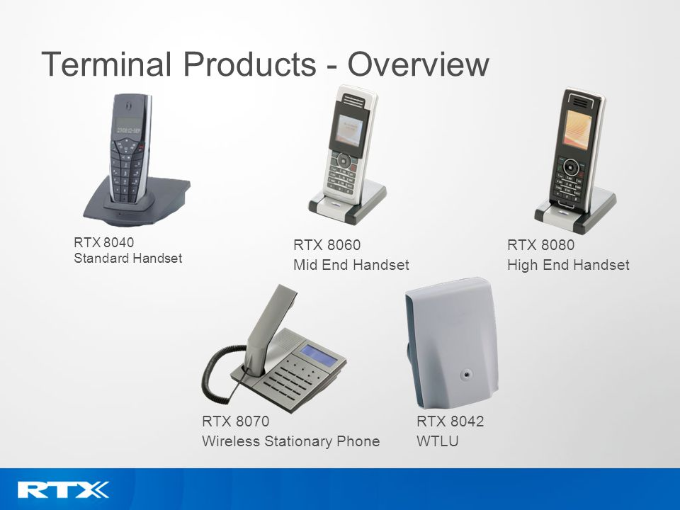 Terminal Products - Overview