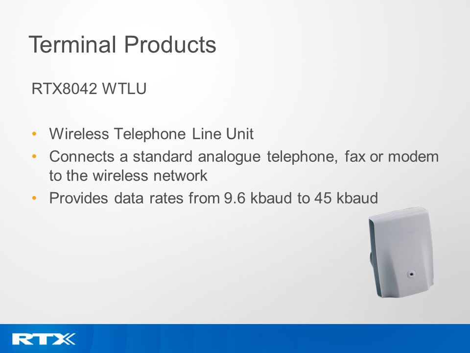 Terminal Products RTX8042 WTLU Wireless Telephone Line Unit