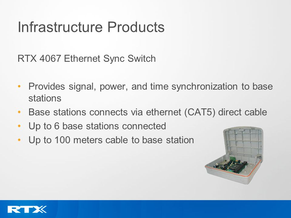 Infrastructure Products