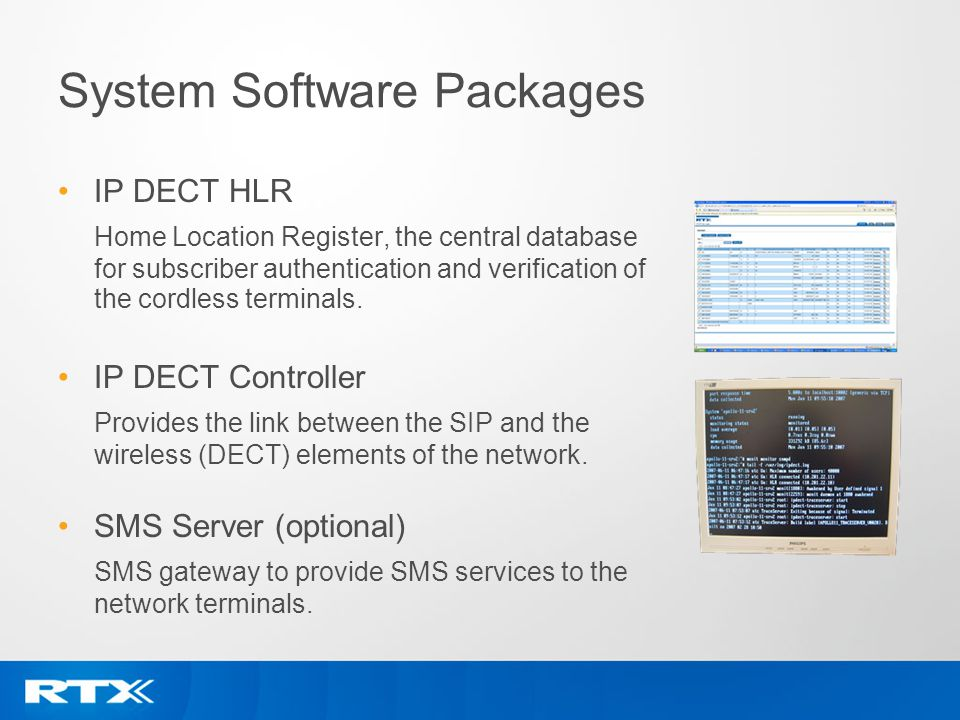 System Software Packages