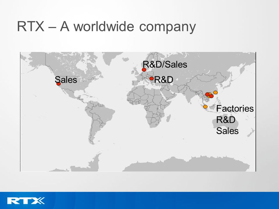 RTX – A worldwide company