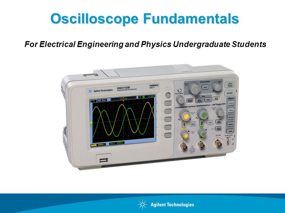 Oscilloscope Fundamentals