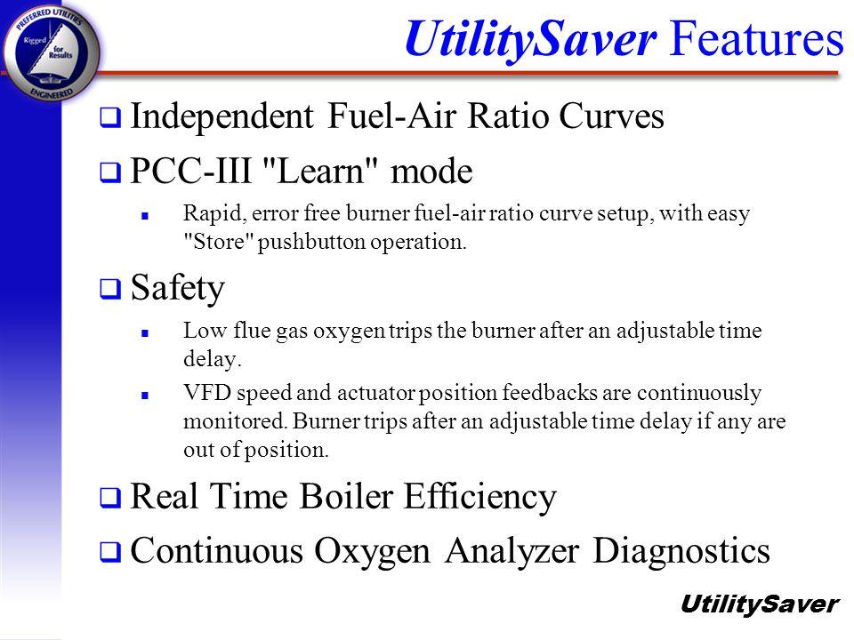 UtilitySaver Features