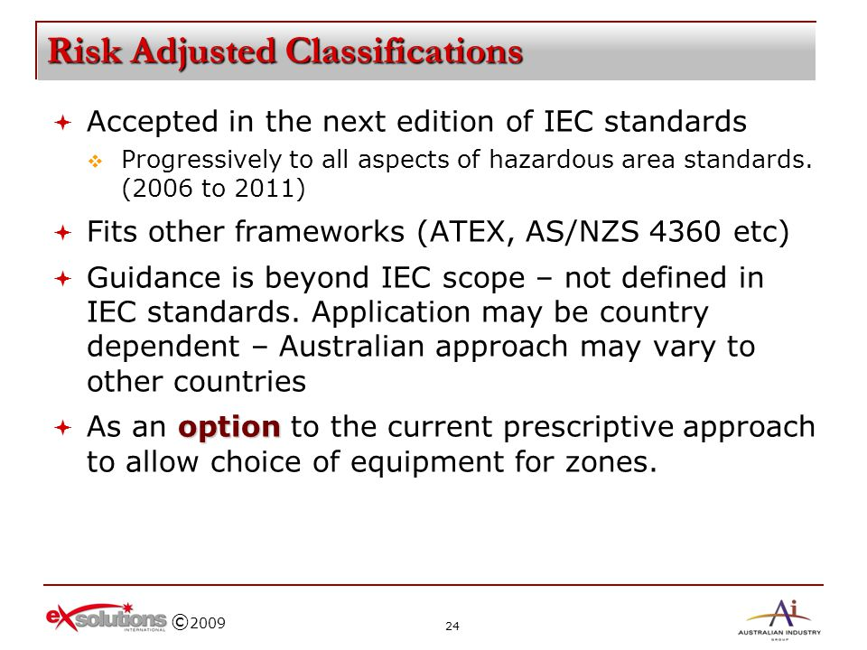 Risk Adjusted Classifications