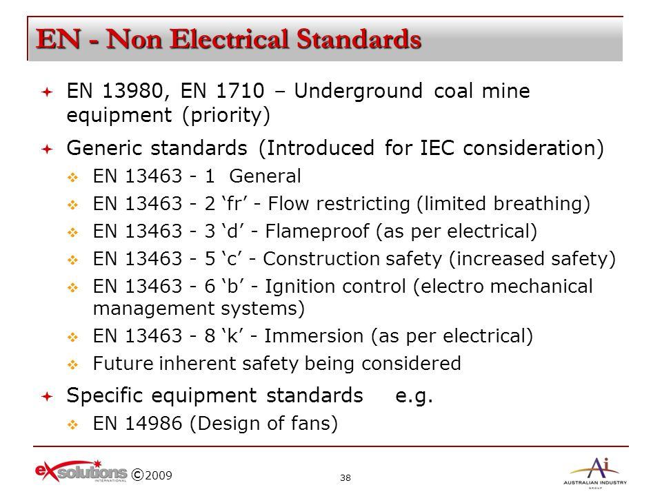 EN - Non Electrical Standards