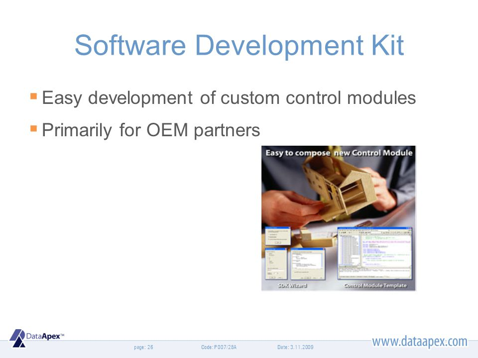 Software Development Kit
