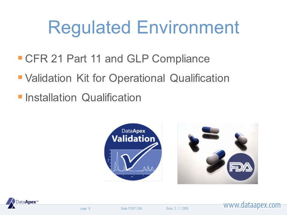 Regulated Environment
