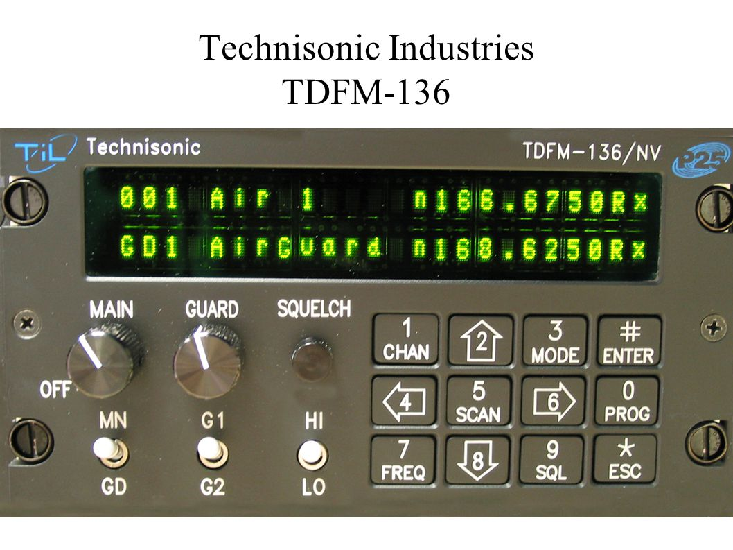 Technisonic Industries TDFM-136