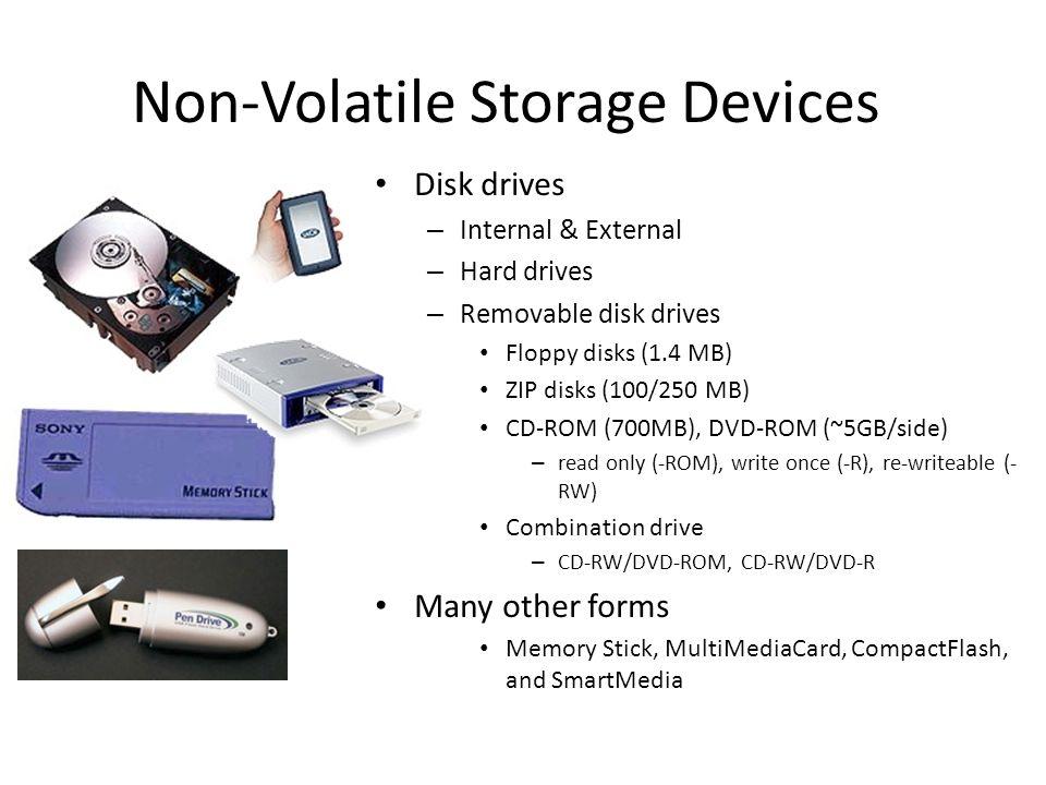 Non-Volatile Storage Devices