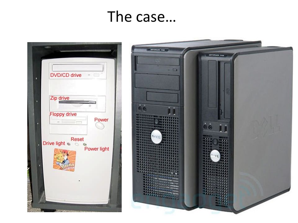 The case…