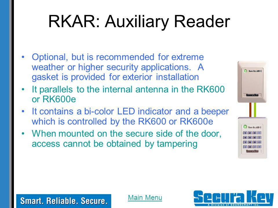 RKAR: Auxiliary Reader
