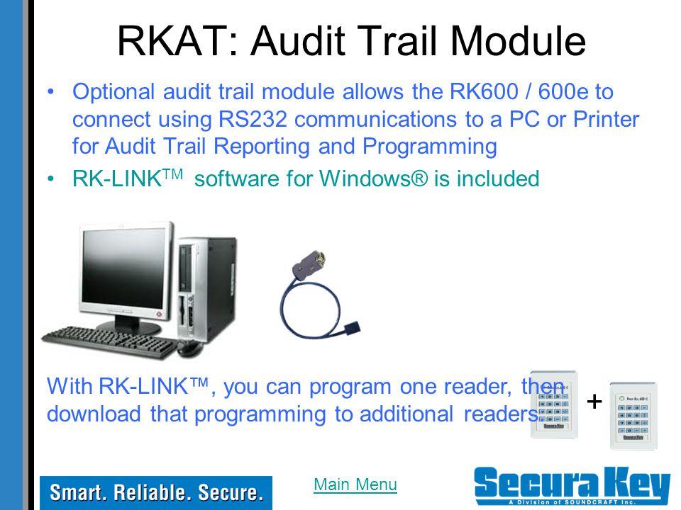 RKAT: Audit Trail Module