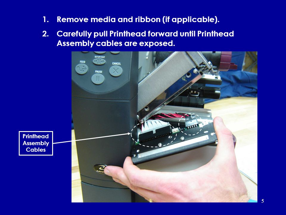 Printhead Assembly Cables