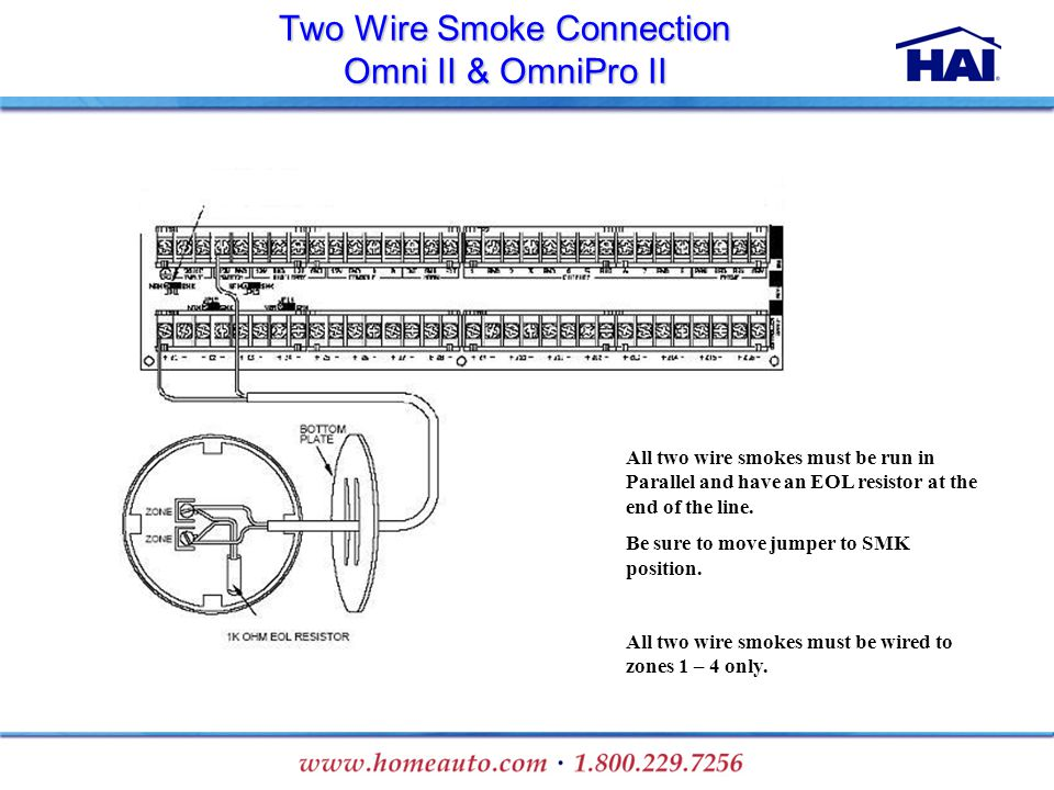 Two+Wire+Smoke+Connection+Omni+II+%26+OmniPro+II installation training ppt download Basic Electrical Wiring Diagrams at webbmarketing.co