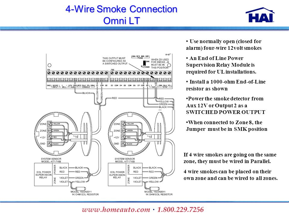 4 Wire+Smoke+Connection+Omni+LT installation training ppt download  at suagrazia.org