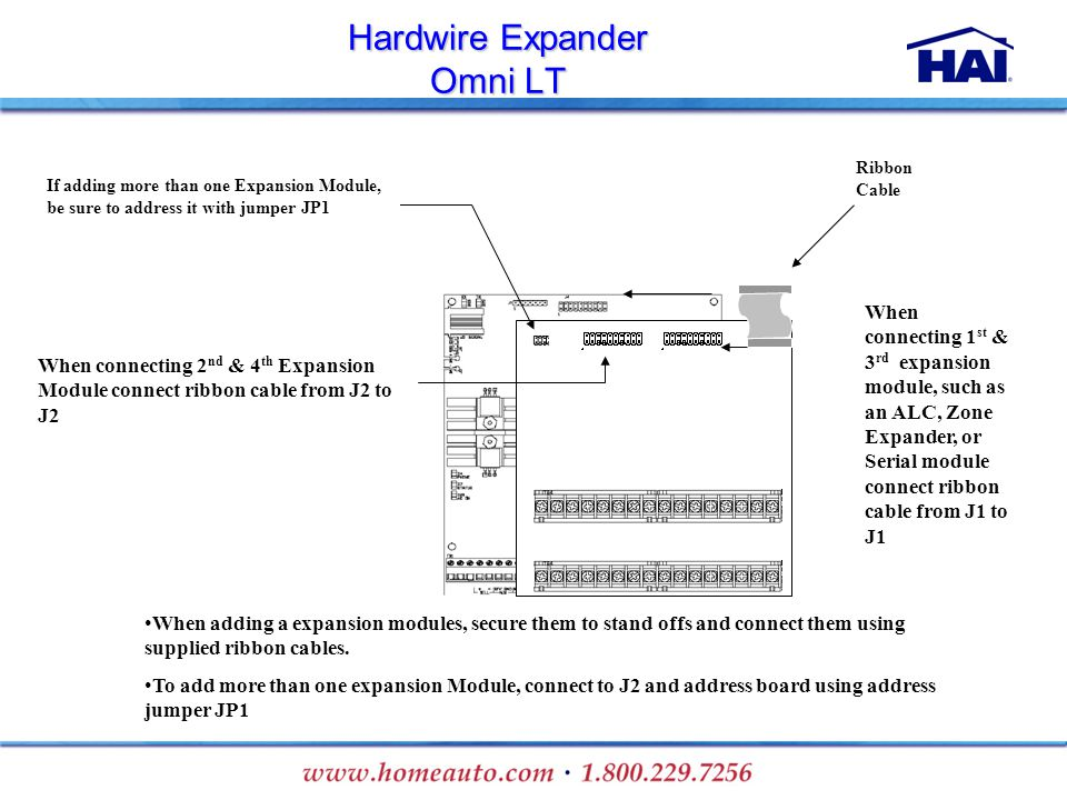 Hardwire Expander Omni LT