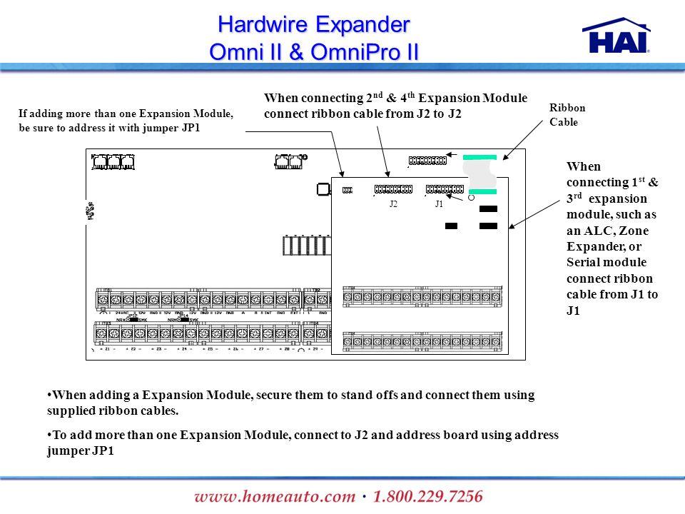 Hardwire Expander Omni II & OmniPro II