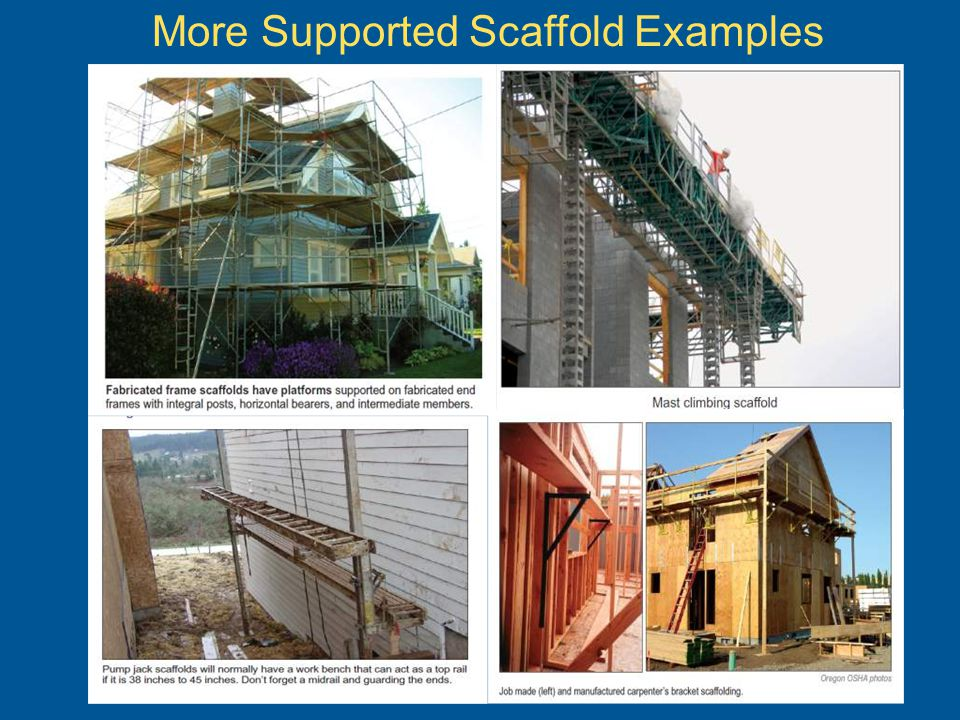 More Supported Scaffold Examples